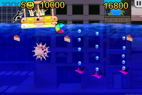 Dolphin Hero - crystal clear graphics