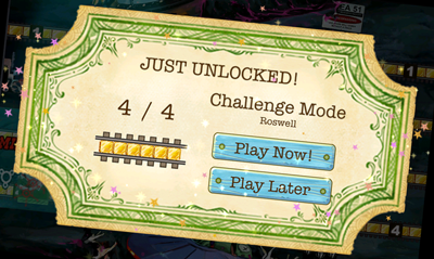 Just unlocked Challenge Mode!