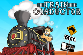 Train Conductor title screen